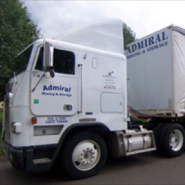 Admiral moving truck
